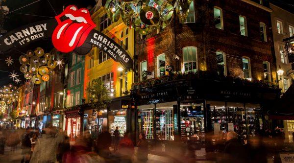 Time lapse d'un Noël à Londres