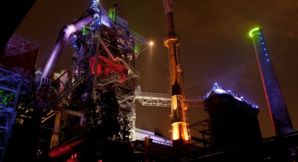 Time lapse du Parc paysager de Duisburg - The Colours Of Steel
