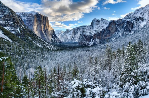 Photographie du jour #267 : Yosemite Winter