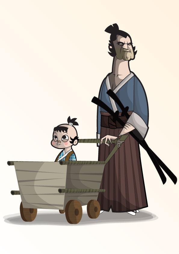 illustrations-cartoons-Ben Camberos-kungfumonkey (12)