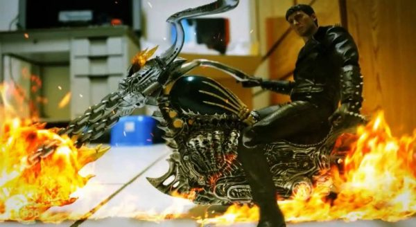 Stop motion de Ghost Rider Vs Resident Evil