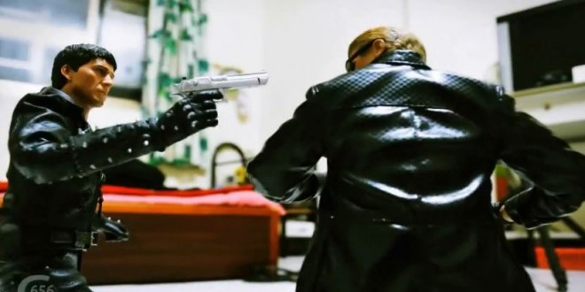 Stop Motion Ghost Rider Resident Evil2
