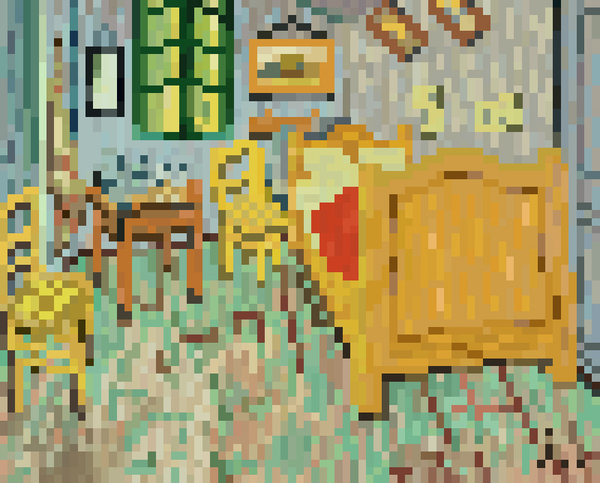 pixel art de l 39 artiste jaebum joo. Black Bedroom Furniture Sets. Home Design Ideas