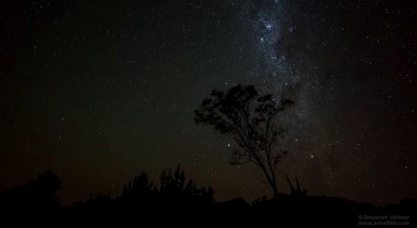 Time lapse de la beauté des ciels Australiens