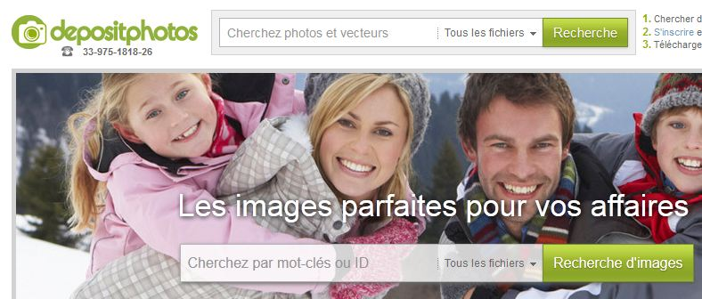 Photo of Depositphotos : des photos libres de droit