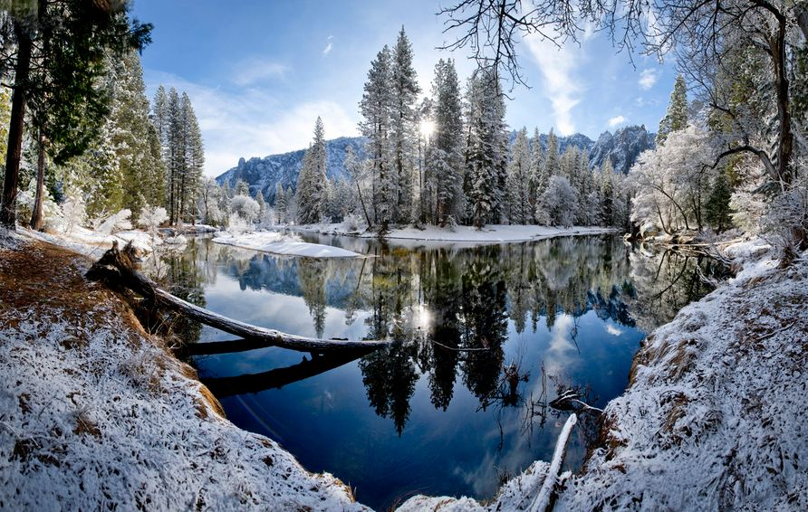 Photo of Photographie du jour #300 : Winter Sunrise On The Merced River