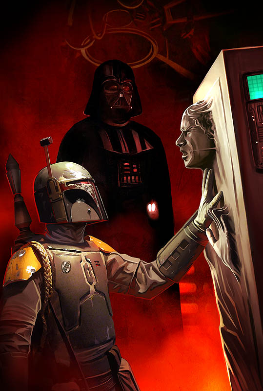 Photo of Les illustrations Star Wars de l'artiste Benjamin Carré