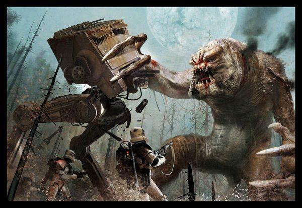 Les illustrations Star Wars de l'artiste Benjamin Carré