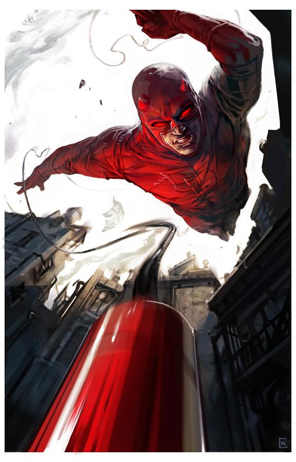 Les illustrations de super-héros de l'artiste Christian Nauck