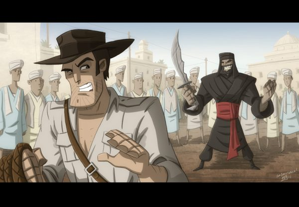 indiana-jones-illustrations-marrantes-otis-frampton (10)