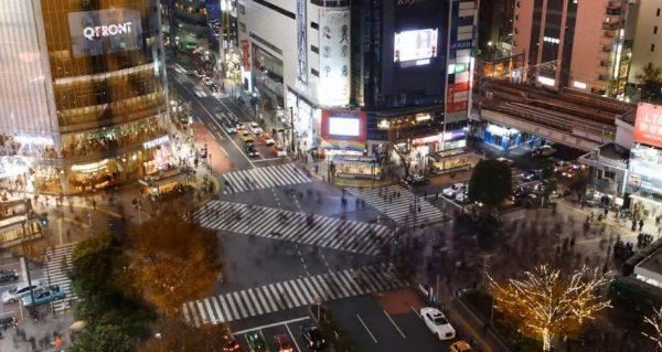 Time lapse de l'Asie