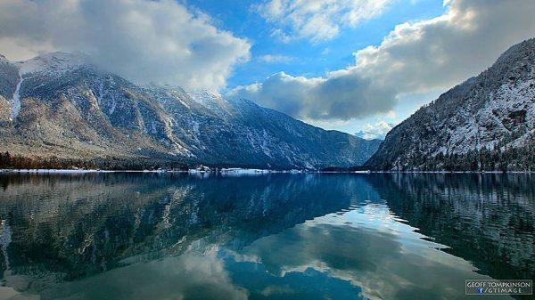 Time lapse du lac d'Hallstatt - Autriche