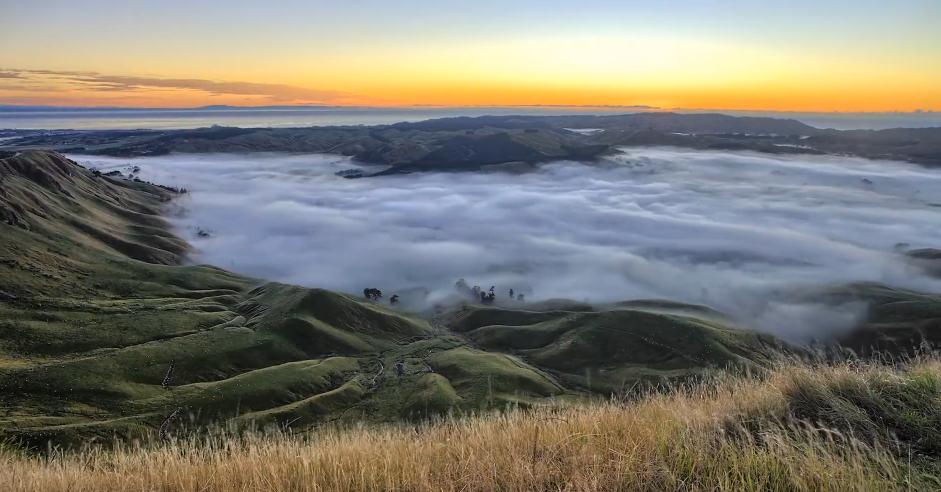 Photo of Time lapse sur la beauté du paysage de la Nouvelle-Zélande