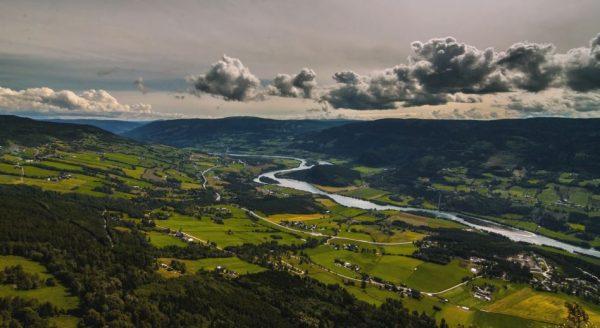 Time lapse de Sør-Fron et des alentours - Norvège