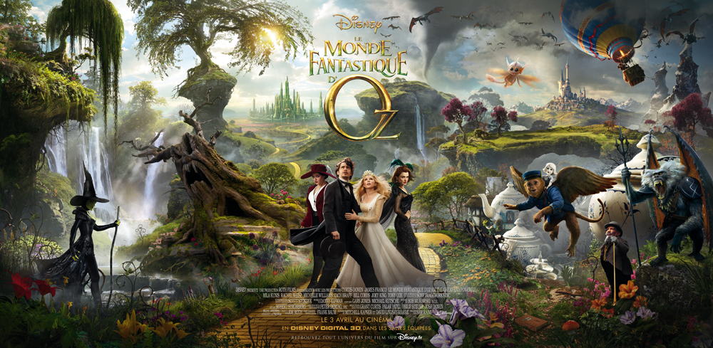 Photo of Le monde fantastique d'Oz – Critique du film
