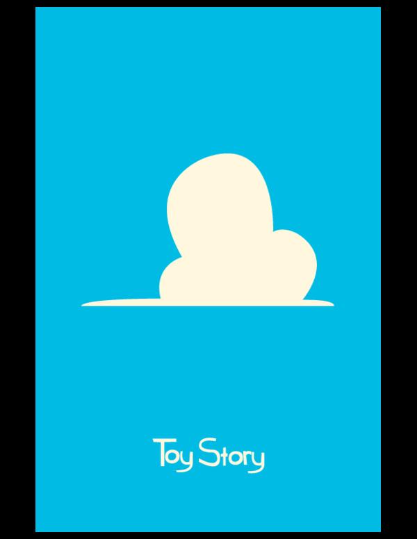 Les affiches minimalistes Pixar de l'artiste Adam Thompson
