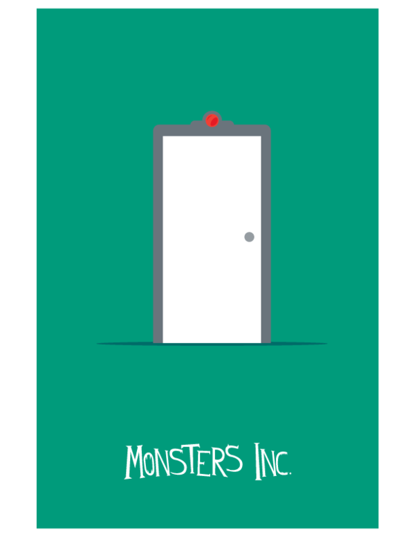 Photo of Les affiches minimalistes Pixar de l'artiste Adam Thompson