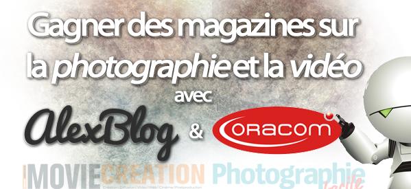 Photo of Viens gagner des magazines sur la Photographie et le Montage Vidéo