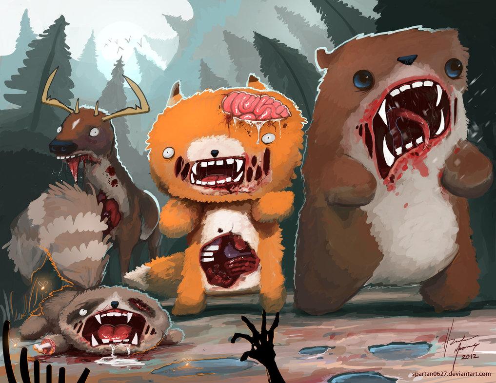Photo of Les illustrations marrantes d'animaux par Hunter Mooney