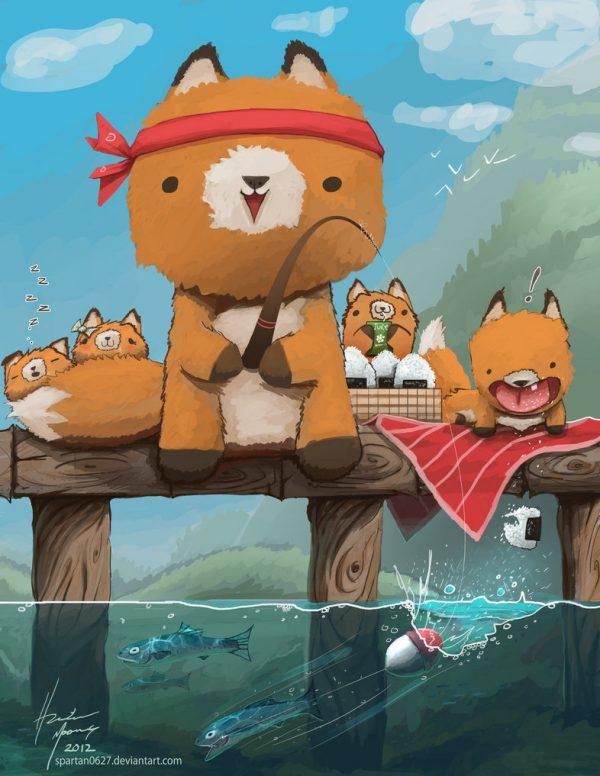 illustrations-marrantes-animaux-Hunter-Mooney (4)