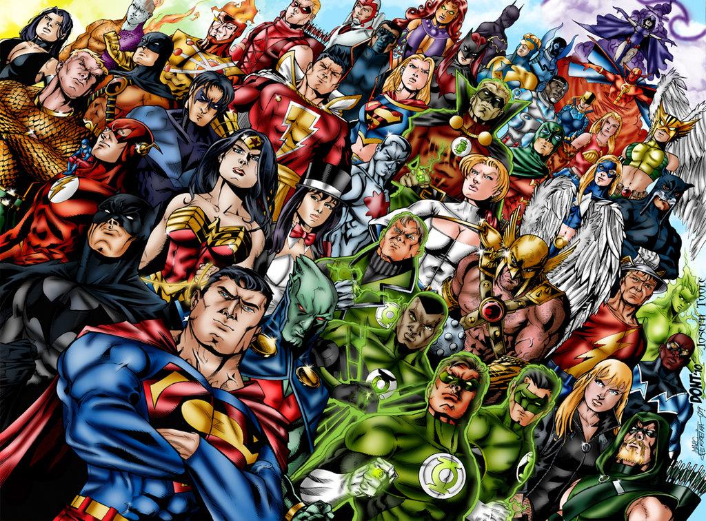 Photo of Les illustrations de super-héros de l'artiste Joseph Toole