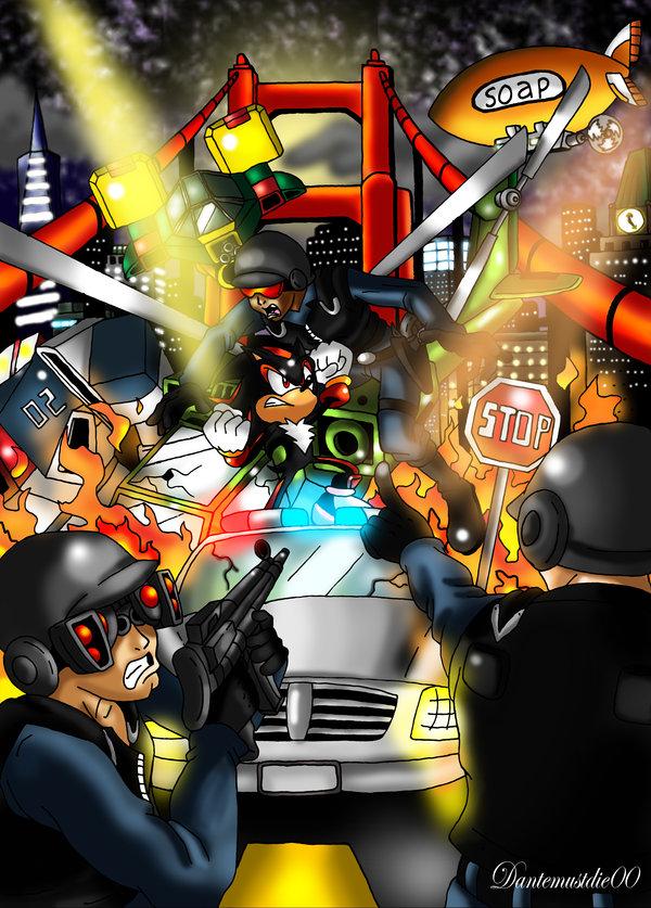Les illustrations du monde de Sonic par Anthony Tyler Brown