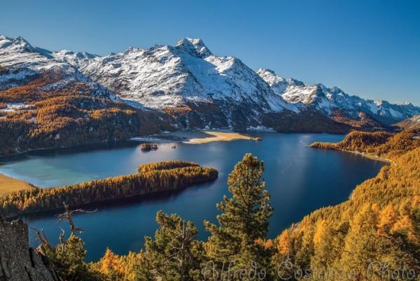 Photographie du jour #315 : Magic Autumn in Engadina
