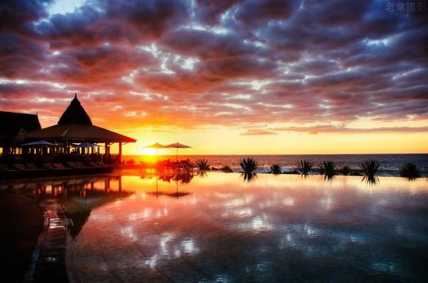 Photographie du jour #324 : sunset Maldives