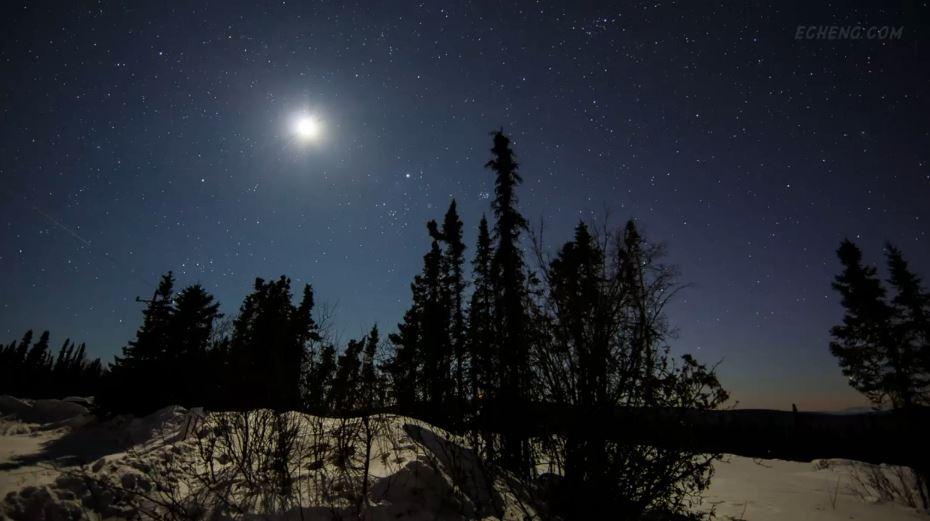 Photo of Time lapse de Aurores Polaires de l'Alaska