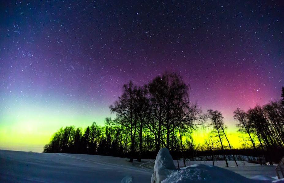 Photo of Time lapse des Aurores Polaires de Lettonie