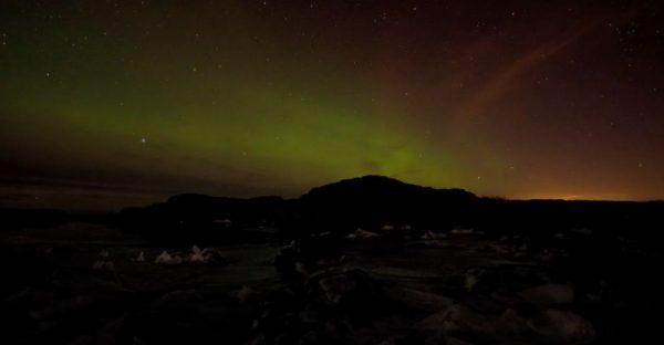 Time lapse d'un automne en Norvège