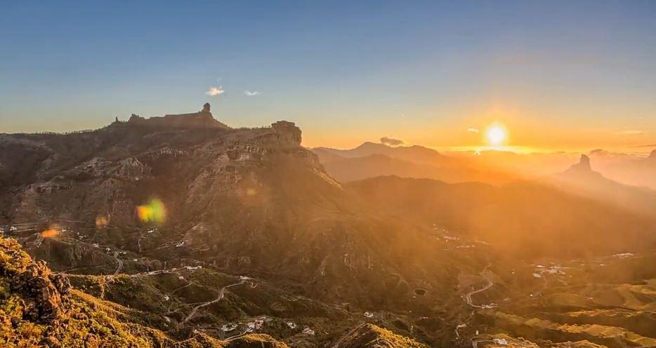 Photo of Time lapse de l'île d'Espagnol de Grande Canarie