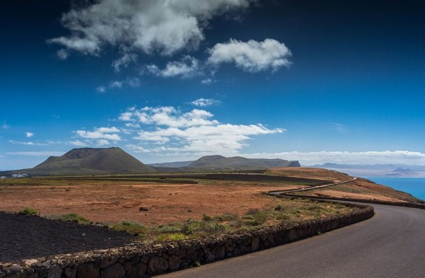 Time lapse de l'île de Lanzarote et de ses volcans
