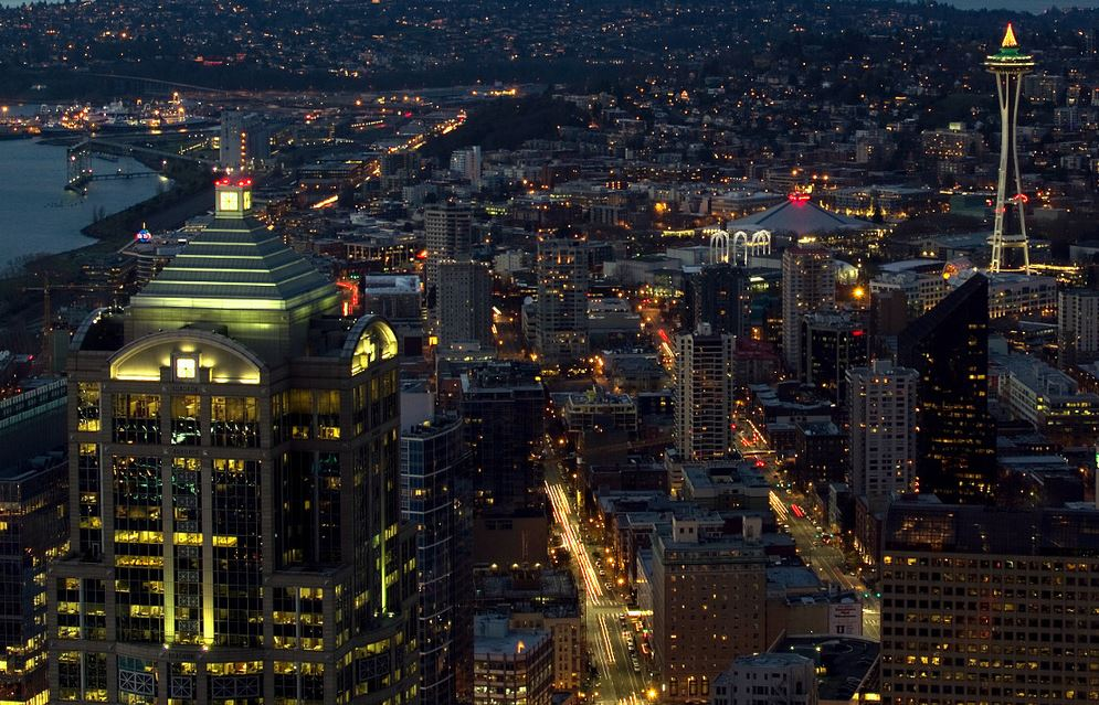 Photo of Time lapse de la ville de Seattle – Etats-Unis
