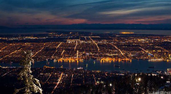 Time lapse de Vancouver - Canada