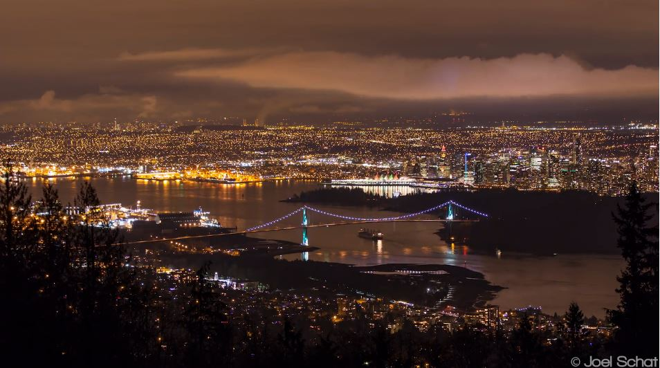 Photo of Time lapse de Vancouver – Canada