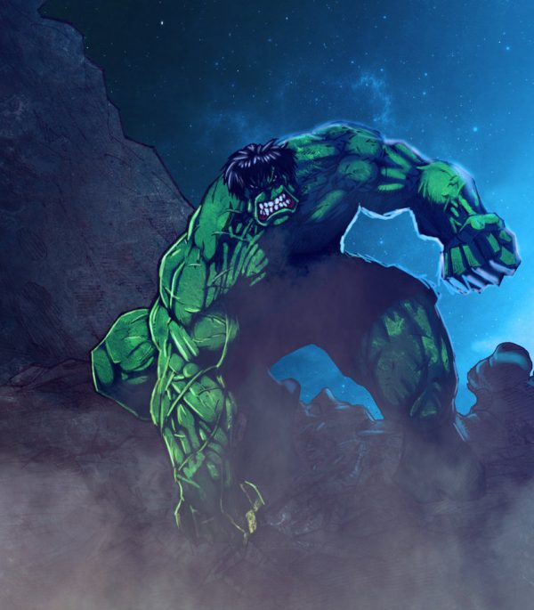 Hulk-illustrations-super-heros-ryan-lewis (1)