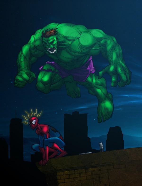 Hulk-illustrations-super-heros-ryan-lewis (2)