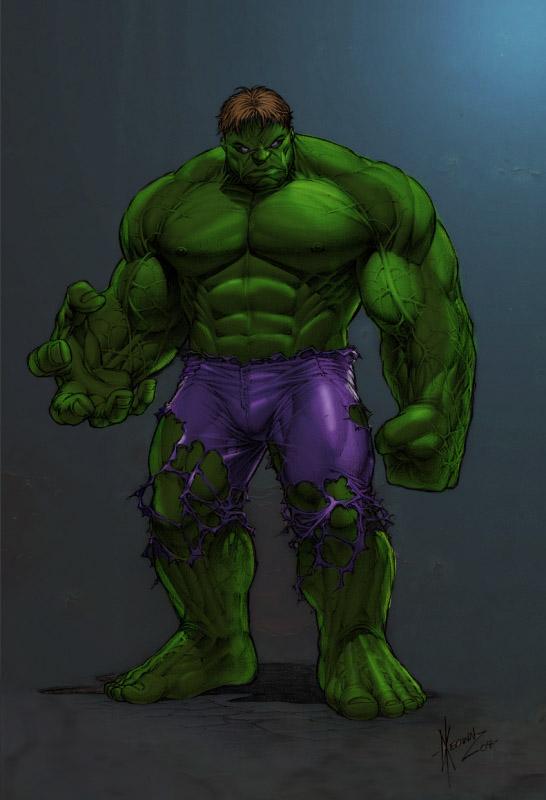 Hulk-illustrations-super-heros-ryan-lewis (3)