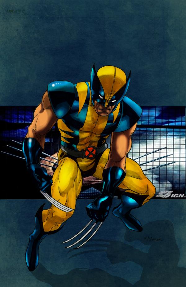 Wolverine-illustrations-super-heros-ryan-lewis (1)