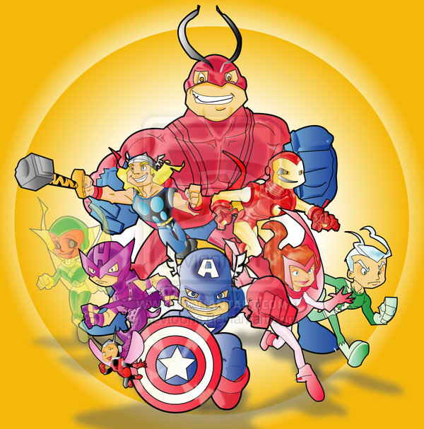 avengers-illustrations-cartoons-super-heros-kevtoons