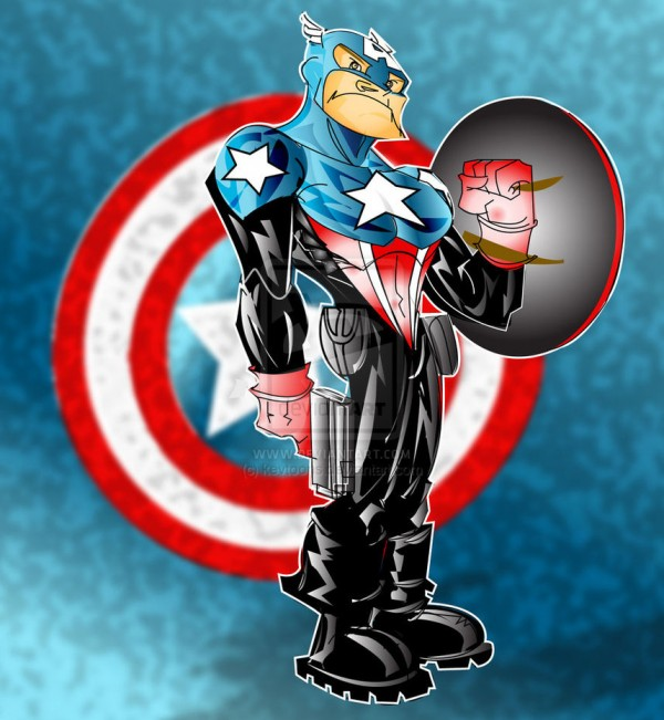 captain-ameria-illustrations-cartoons-super-heros-kevtoons