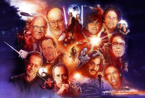 Les dessins de super-héros de films par l'artiste Paul Shipper