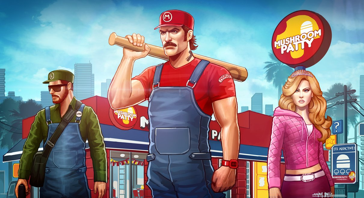 Photo of Grand Thelft Mario : Quand Mario rencontre le monde de GTA
