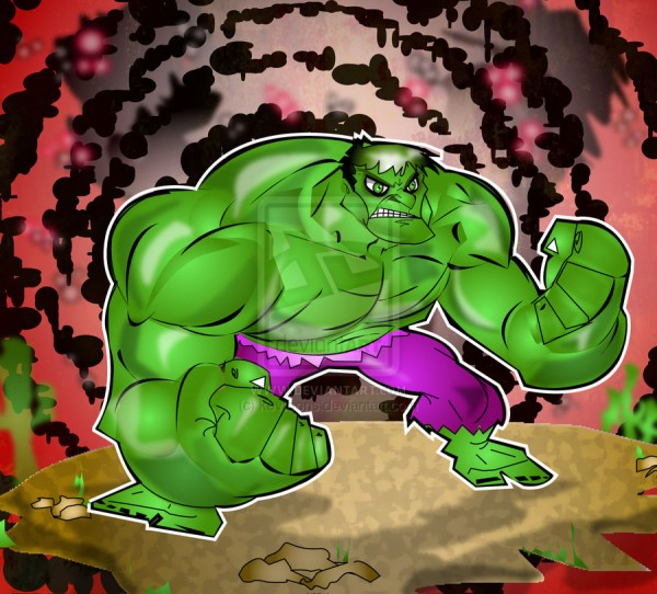 hulk-illustrations-cartoons-super-heros-kevtoons