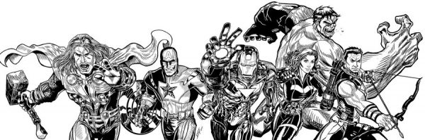 illustration-black-white-super-heros-alfret-Alfredo-Lopez (1)