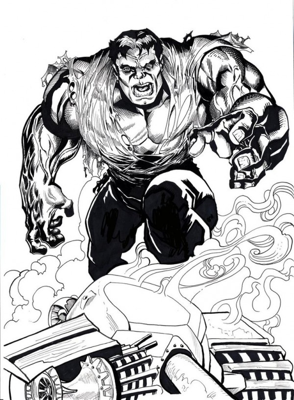 illustration-black-white-super-heros-alfret-Alfredo-Lopez (10)