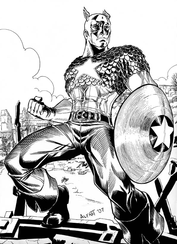 illustration-black-white-super-heros-alfret-Alfredo-Lopez (3)