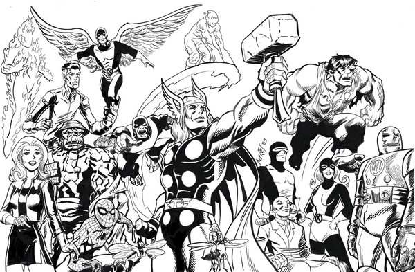 illustration-black-white-super-heros-alfret-Alfredo-Lopez (5)