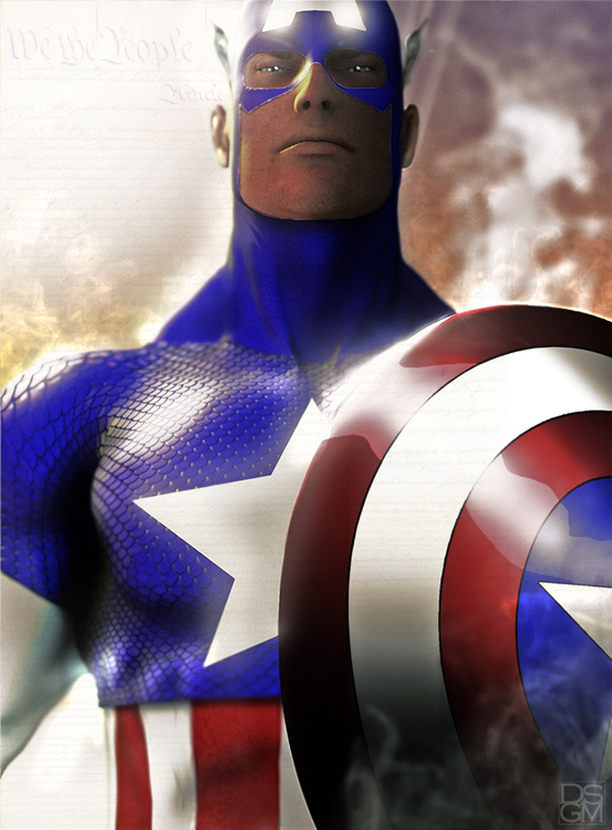 We the People - Captain America